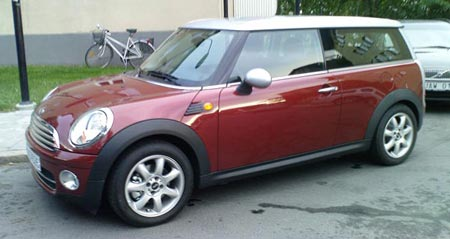 Mini Cooper D Clubman Nightfire Red